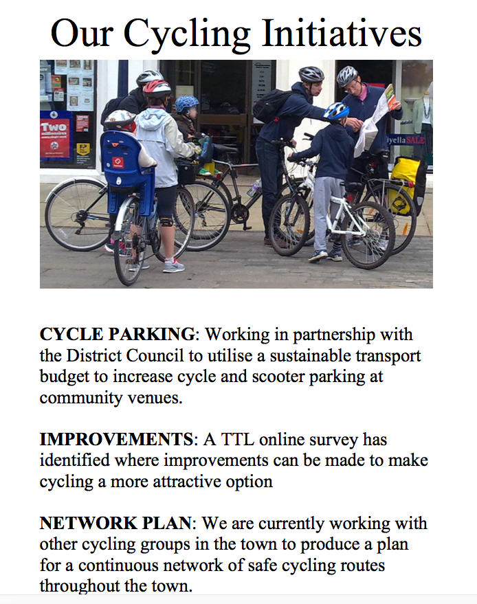 Cycling Initiatives