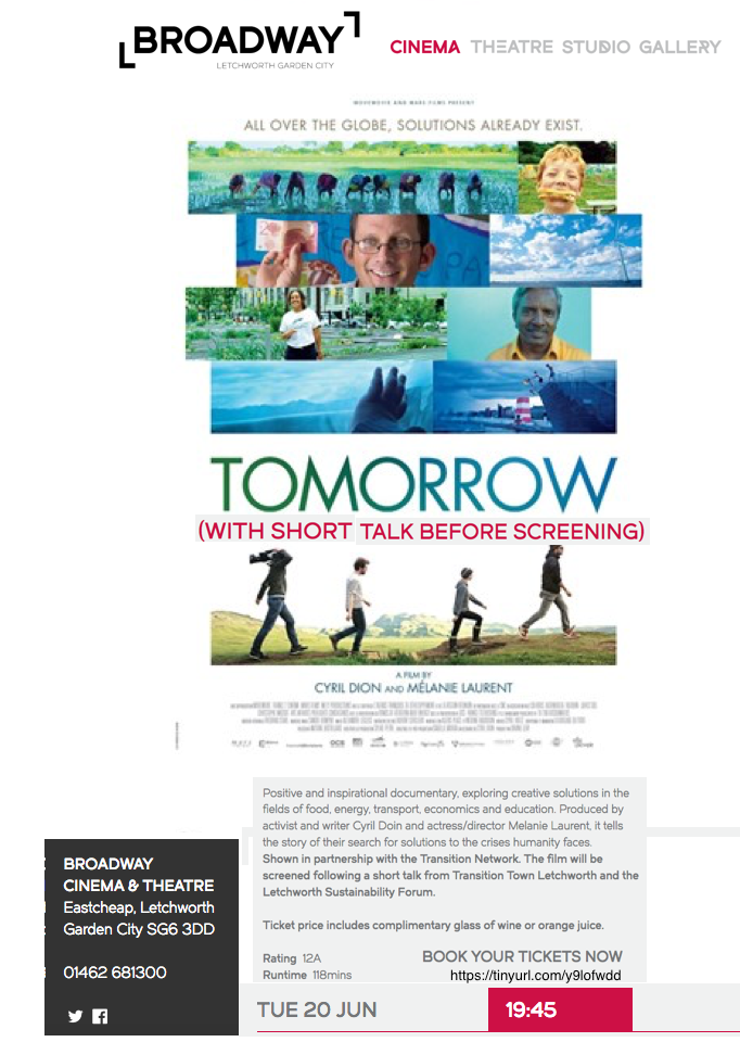'Tomorrow' / 'Demain' the film