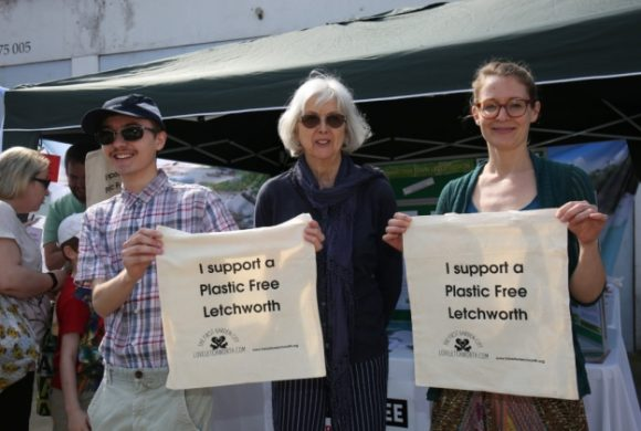 Transition Town Letchworth launch plastic-free project