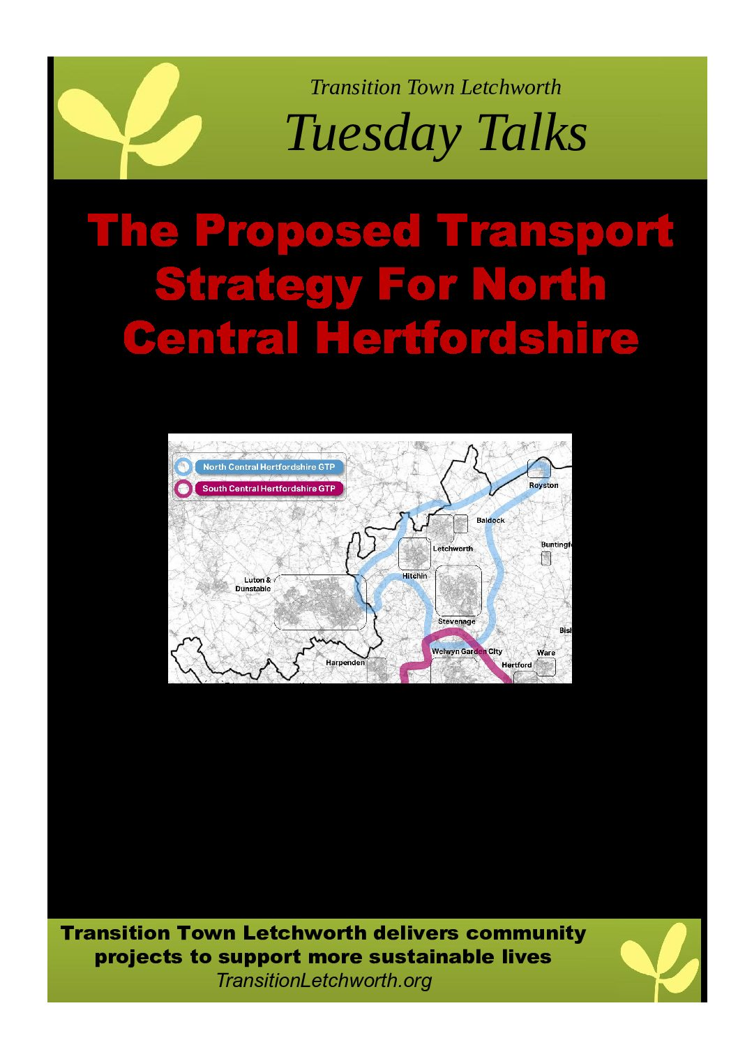 The Proposed Transport Strategy for North Central Hertfordshire